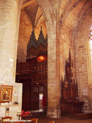 Saint Malo Church in Dinan