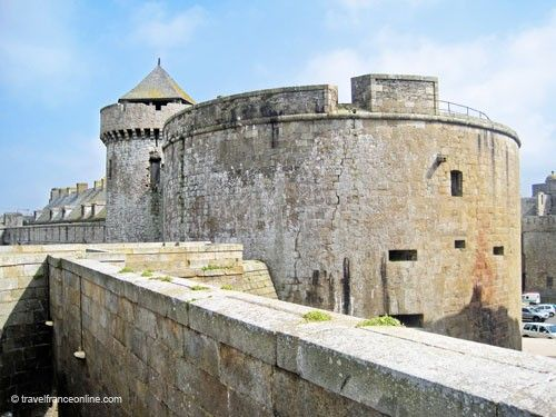 St Malo Fortress - Fortifications and Porte Saint-Thomas