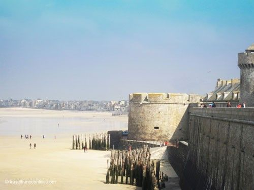 St Malo Fortress - Tour Bidouane
