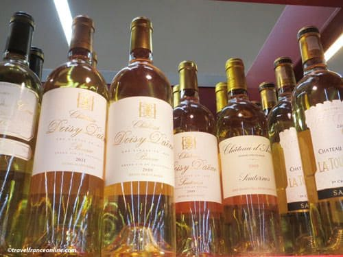 Sauternes and Barsac wines