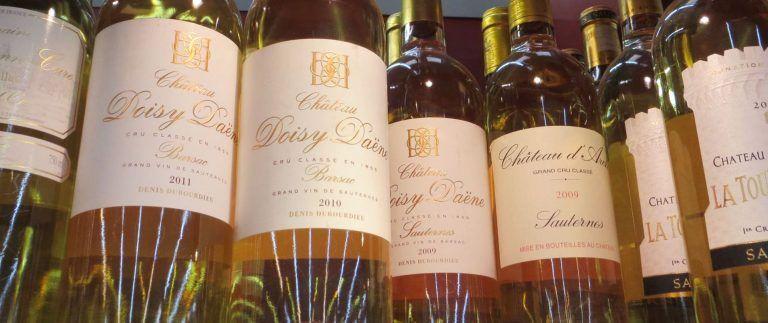 Sauternes wines – Barsac – Bordeaux Vineyard