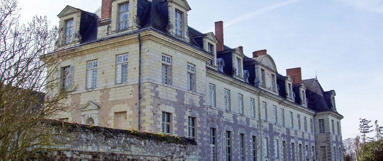 St Maur de Glanfeuil Abbey – Loire Valley
