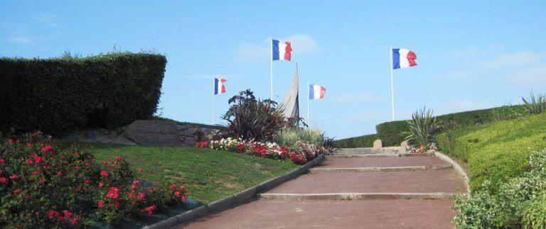 Sword Beach War Memorials