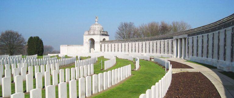 Tyne Cot Cemetery on Passchendaele Ridge