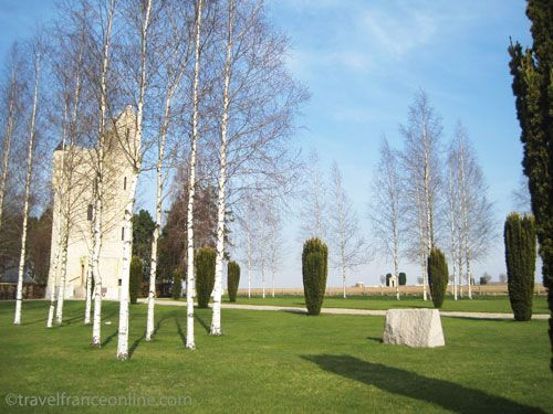 Ulster Tower Memorial in Thiepval