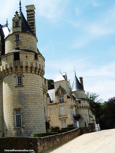 Sleeping Beauty Tower in Usse Castle