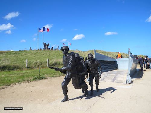 Higgins Boat Monument on Utah Beach