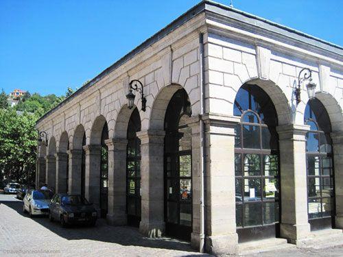 Villefranche de Rouergue - Halle au Gras market