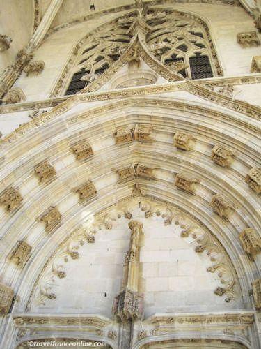 Villefranche de Rouergue - Notre-Dame Cathedral Flamboyant porch