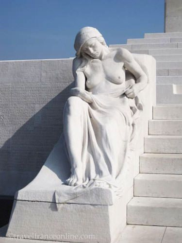 Vimy Ridge Canadian National Memorial - Mourning Mother