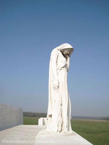 Vimy Ridge Canadian National Memorial - Mother Canada