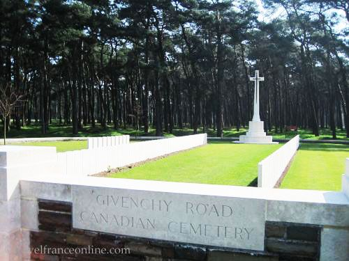 Vimy Ridge Canadian National Memorial Park - CWGC Givenchy Road Cemetery