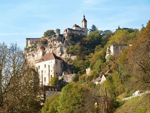 Rocamadour episcopal city