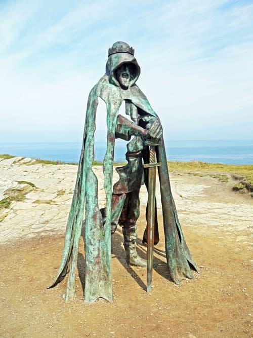 Arthurian Legend - King Arthur in Tintagel - Cornwall