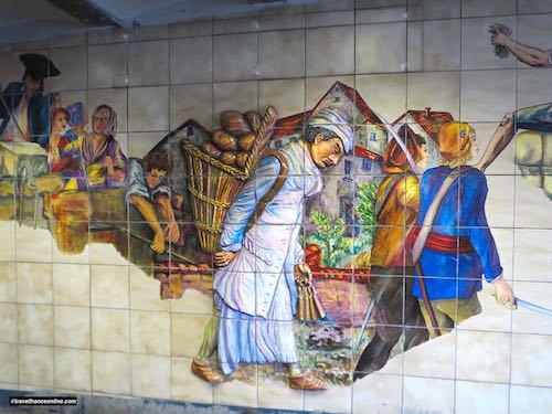 Bastille Metro station - The baker and the revolutionaries