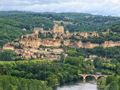 Beynac Castle seen from Castelnaud