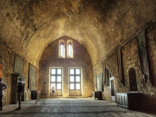 Beynac castle - Great Hall of State