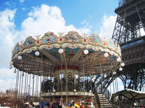 Carrousels - Tour Eiffel