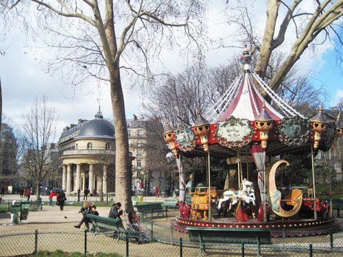Carrousels - Parc Monceau