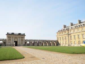 Chateau de Vincennes - South Portico and Pavillon du Roi