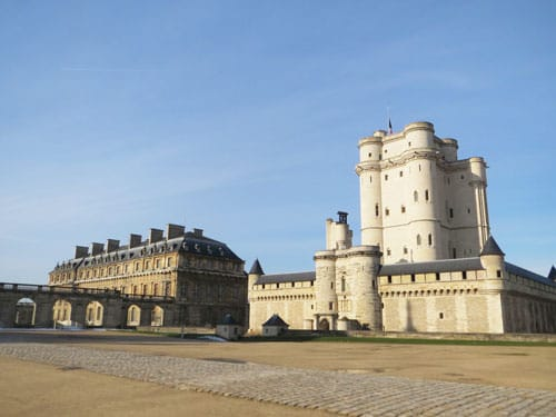 Chateau de Vincennes - Donjon and Pavillon du Roi