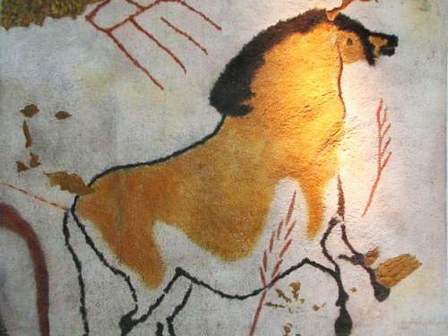 Prehistoric Dordogne - Horse in Lascaux