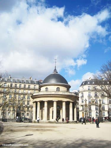 Pavillon de Chartres - Rotonde du Parc Monceau