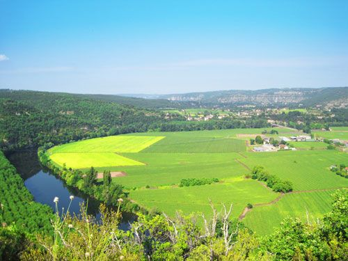 Lot Valley in Quercy