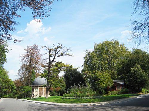 Parc Montsouris - Guard hut