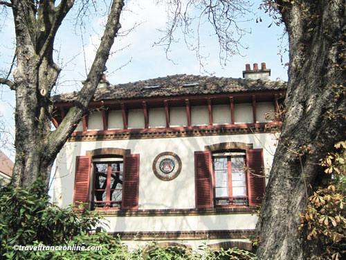 Guard Pavilion in Parc de Montsouris