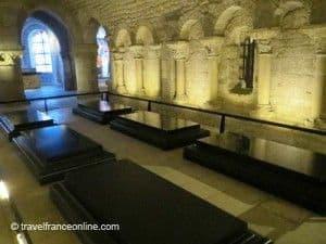 Suger Crypt in Saint Denis Basilique