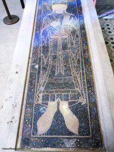 Carolingian tomb in Saint Denis Basilique
