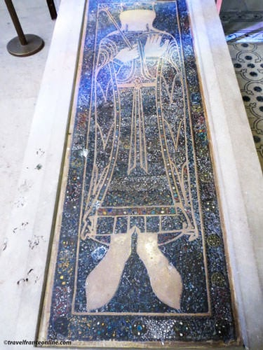 Carolingian tomb in Saint Denis Basilique