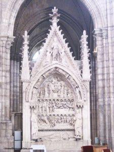 Dagobert's Tomb in Saint Denis Basilique