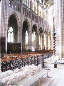 Kings' graves in Saint Denis Basilique