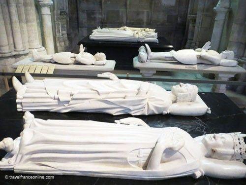 Valois kings - Charles V & Jeanne de Bourbon in Saint Denis Basilique