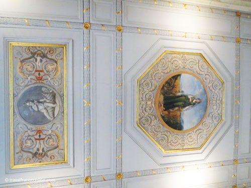 Galerie Vero Dodat - Painted ceiling