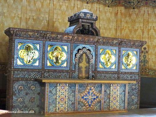 Saint Jean de Montmartre Church - Baudot's altar
