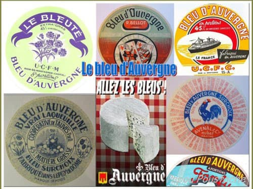 Bleu d'Auvergne labels