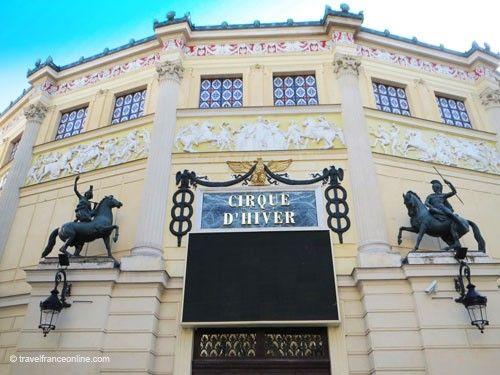 Cirque d'Hiver entrance