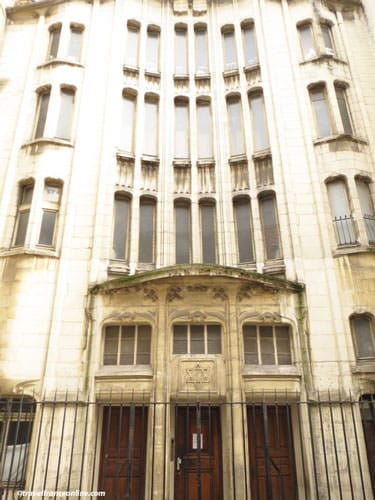 Rue des Rosiers synagogue