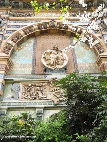Sevres portico in Square Felix Desruelles
