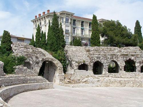 Roman arenas in Cimiez