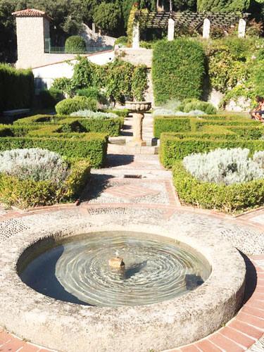Cimiez Monastery's gardens