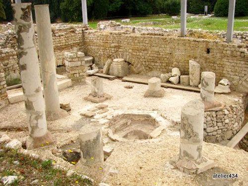 Roman ruins Nice