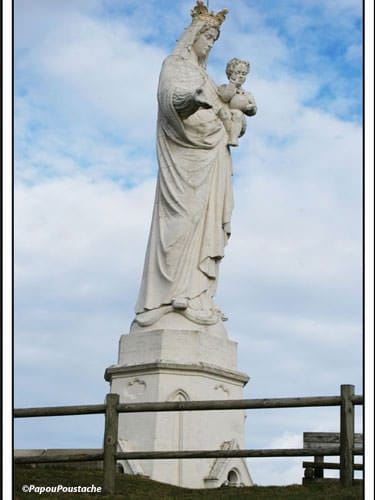 Our Lady of Monton - One of the tallest statues in France