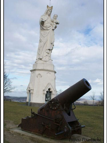 Our Lady of Monton and the German gun