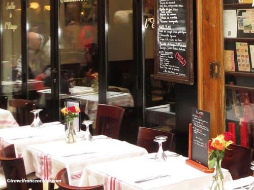 Paris 12th district - Cafe terrace