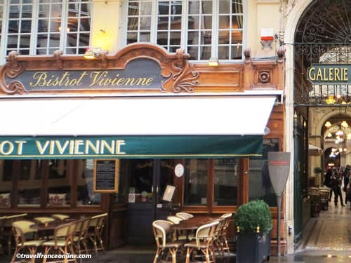 Paris 2nd District - Cafe terrace