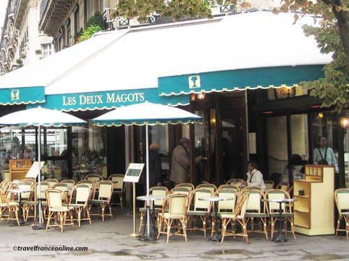 Paris 6th district - Cafe terrace